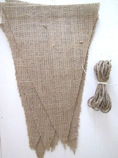 DIY Burlap Banner Kit