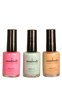 Non-toxic Nail Polish to Try Out: sumbody