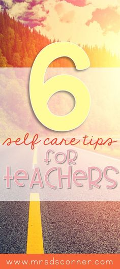 As teachers, we give our all every single day. It is both rewarding and challenging to be a teacher. For every frustrating moment, there are ten positive moments. But at the end of the day, it is important to take care of ourselves too. 6 Self care tips f Special Education Teacher, New Teachers, Your Teacher, Teacher Resources, Teacher Apps, Teacher Tools, Classroom Resources, Teacher Stuff, Teacher Gifts