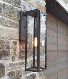 Tower Lighting - modern brass lantern