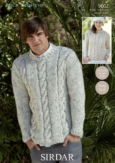 Sweaters in Sirdar Big Softie - Discover more Patterns by Sirdar at LoveKnitting. The world& largest range of knitting supplies - we stock patterns, yarn, needles and books from all of your favorite brands.