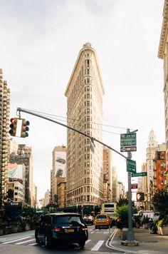 Madison Square Park & The Flatiron Building Manhattan