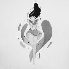 Love these illustrations by Rafael Mayani