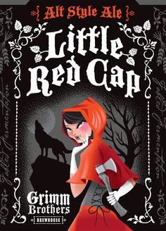 """Grimm Brothers """"Little Red Cap,"""" Designed by Tenfold Collective"""