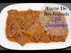 Carne de Res Guisada Beef Stew Sabor en tu Cocina Ep. 3 - YouTube