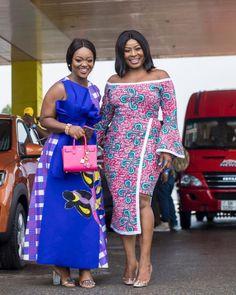 Jackie Appiah & Gloria Sarfo In Bri Wireduah Stun At The Ghana @ 60 Movie Summit