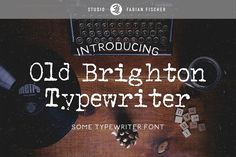 30 Best Typewriter Fonts images in 2019 | Professional fonts