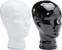 Deco Head Black and White Assorted by KARE Design