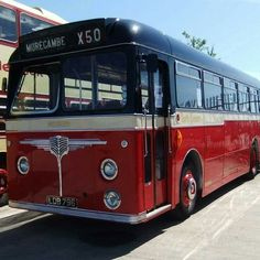 If Carlsberg painted buses. Probably the best bus livery in the world. North Western Road Cars Black topped Leyland Cub.