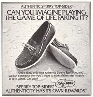 Sperry Top-Sider 1978 Ad Picture