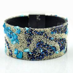 Bohemia Beads Wide Beach Bracelet For Women