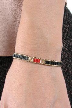 Delicate Beaded Chain Bracelet