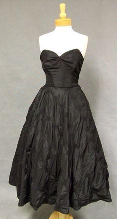 Vintageous, LLC - AMAZING 1950's Strapless Cocktail Dress w/ Matching Jacket, $215.00 (http://www.vintageous.com/amazing-1950s-strapless-cocktail-dress-w-matching-jacket/)