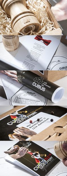 CUBUS IM AEC // Direct Mail:  By www.strobl-kriegner.com #direct #mail #creative #branding #marketing #design Marketing Services, Direct Mail, Creative, Container, Packaging, Branding, Design, Celebration, Things To Do