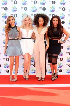 Little Mix At The BBC Radio One Teen Awards In London, 2013
