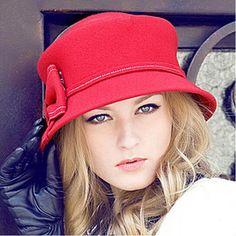 New Britpop Women'S Fashion Cloche Bowler Fedora Hat Wool Felt Bow Cap Bucket Fedoras Hat Headwear From Jessiebee, $23.96 | Dhgate.Com