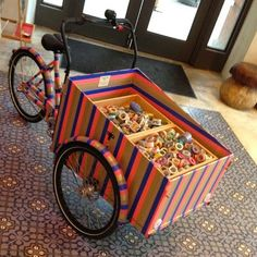 Christiania Bike, Bike Pic, Cargo Bike, Pinball, Anthropologie, Nyc, Stripes, York, Motors