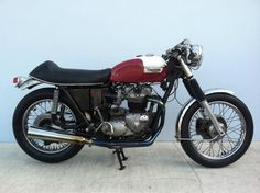 Triumph Bonneville 750 V! for sale on Bmw Motorcycles, Vintage Motorcycles, Rockabilly, Rockers, Rock And Roll, Triumph Cafe Racer, Motorbike Design, Vintage Cafe Racer, Motorcycle Types