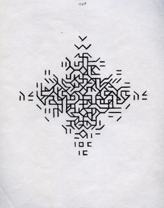 Relevancia 2 Mary Martin Drawing for Cross 1968 pen on paper Graphisches Design, Pattern Design, Generative Kunst, Tattoo Muster, Tattoo Hals, Art Graphique, Mary Martin, Compass Tattoo, Textures Patterns