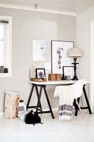 pinterest or tumblr desk decor