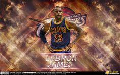 New wallpaper of LeBron James, download full size of wallpaper at - http://www.basketwallpapers.com/USA/LeBron-James/ :)