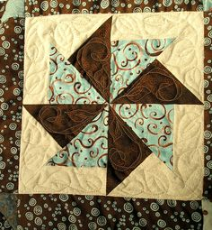 easy 12 in quilt blocks | The Proficient Needle: Another Quilt Completed !