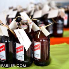 Wedding favors...that's be cute if the bride and groom were going to Jamaica on their honeymoon.