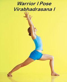 Warrior I (Virabhadrasana I).jpg 392×480 pixels