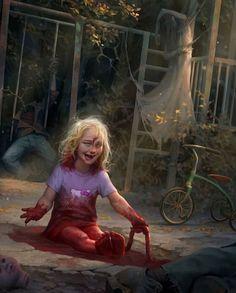 Scary Art, Weird Art, Arte Horror, Horror Art, Dark Fantasy, Fantasy Art, Scary Tales, Lovecraftian Horror, Horror Themes