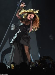 Concert: The beauty had put herself through her paces already, blasting out an energetic s...