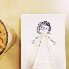 do you prefer my vanilla or chocolate dress  #tgif #thankgoditsfoodsbury , #doodle by @annjfr