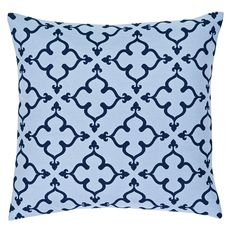 Merina Poseidon Pillow Fabric 18x18 Down