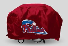 Philadelphia Phillies MLB Economy Barbecue/BBQ Grill Cover