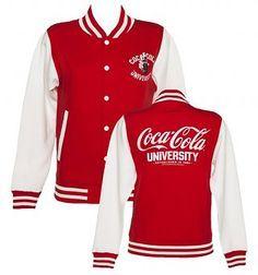 Women's Coca-Cola University Varsity Jacket