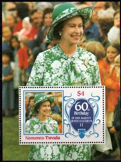 Tuvalu Nukulaelae 1986 Queen Elizabeth 60th Birthday Set Fine Mint SG Listed Scott 48 51 Condition Fine MNH Only one post charge applied on multipule