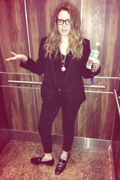 Natasha Lyonne - can't live without her black blazer.