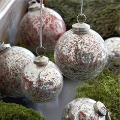 Weihnachtskugeln 6er Set Rechilieu #loberon #christmas #Xmas #Weihnachten