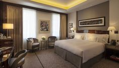 A premier room at The Beaumont in Mayfair