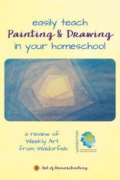 Follow-along video art lessons from Waldorfish are a wonderful addition to your homeschool. Weekly Art Foundations helps you teach crayon drawing, watercolor painting, chalkboard drawing and more all online. To brighten up your homeschool, teach art skills, and lighten your load. Watch with your children while creating art together. Registration is open in January and August. Curriculum Planning, Homeschool Curriculum, Homeschooling, Watercolor Painting, Painting & Drawing, Chalkboard Drawings, Inspired Learning, Hands On Activities, Children And Family