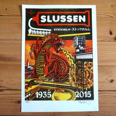 In Memory of Slussen - Print is a project carried out by me, Mander. Feel free to check it out.
