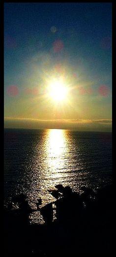 amazing sunset #photo via: pd4pic.com