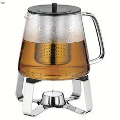 WMF 2-delige theeset gepolijst rvs TeaTime - Koffie en theekannen - Koffie-Thee - Design bestel je online | 5cc.nl