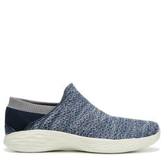 Skechers Women's You Walk Slip On Sneakers (Navy) - Sketchers Go Walk, Walking Shoes, Slip On Sneakers, Skechers, Take That, Navy, Casual, Products, Style