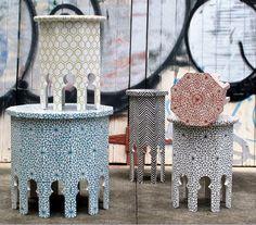 The Small Garden   Moroccan Tables