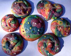 Unicorn Poop Cookies - sparkly!