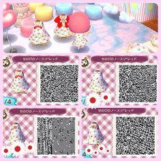 Cute party dress. Qr codes