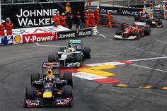 Mark Webber (AUS) Red Bull Racing. Race Day, Monaco Grand Prix,  2012