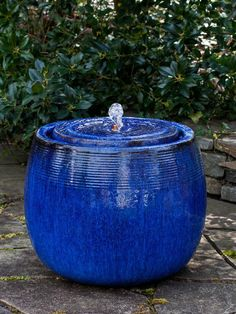 Free Shipping And NO Sales Tax On The Boden Glazed Garden Fountain From The  Outdoor Fountain