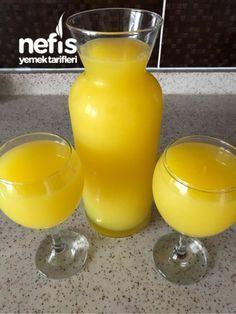 3 Portakal 1 Limon 1 Havuç Ve Enfes Bir İçecek