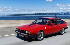 This young couple restored their 1981 Alfa Romeo GTV6 in the garage of their apartment with no experience in building or painting cars. #alfaromeogtv6